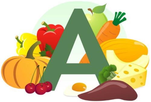 >Нехватка витамина А в детском организме приводит к снижению остроты зрения в темноте и нарушению цветового восприятия.